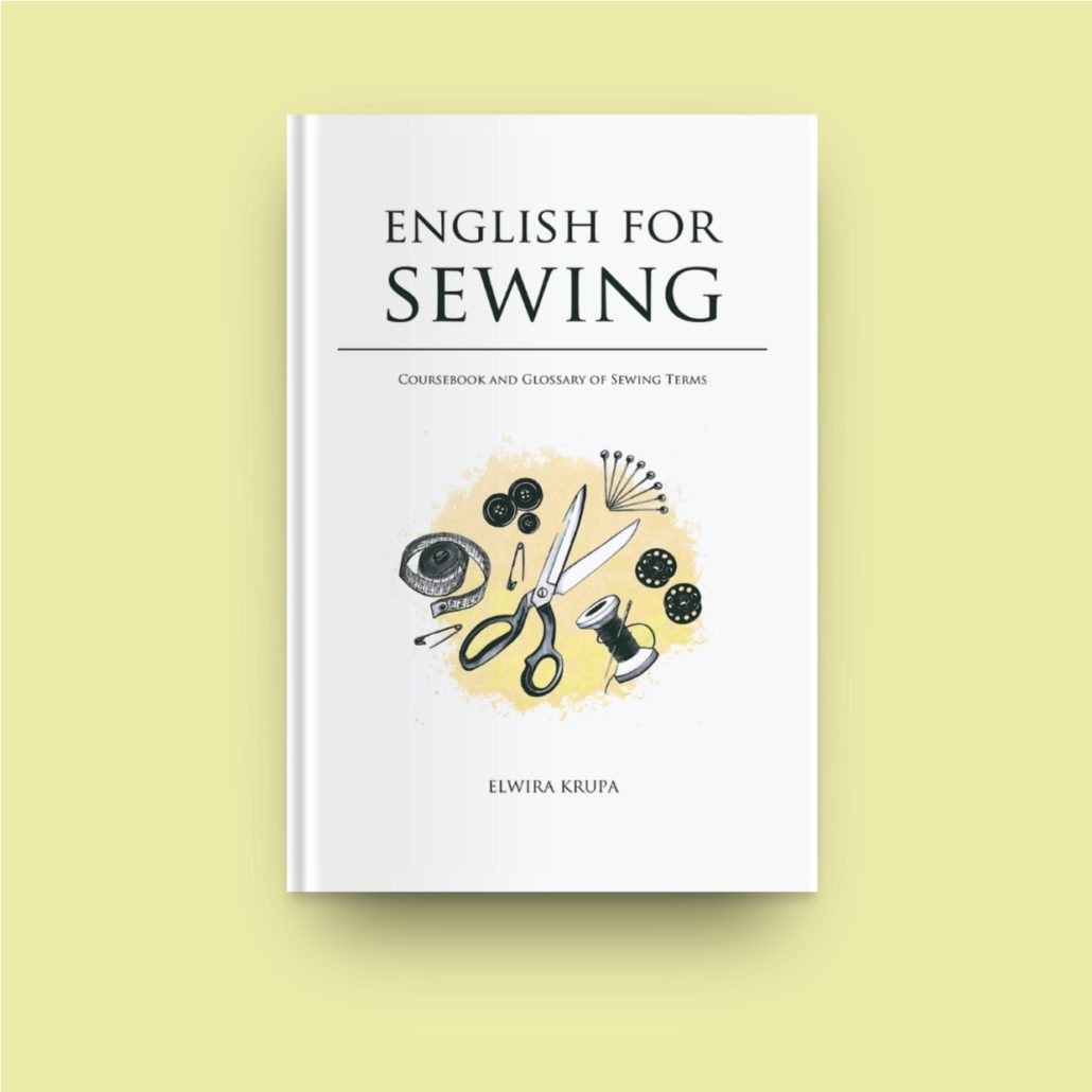 english for sewing